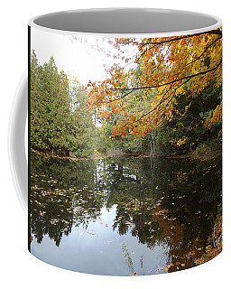 Coffee Mug featuring the photograph Tranquil Getaway by Brenda Brown