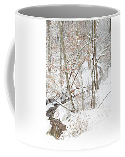 Tranquil Winters Creek Coffee Mug