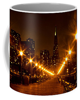 Transamerica Pyramid From Pier Coffee Mug