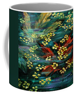 Coffee Mug featuring the painting Transforming... by Xueling Zou