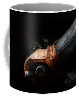 Leather Goes For A Ride Coffee Mug