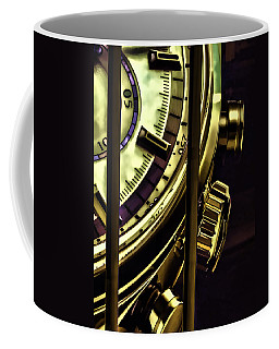 Coffee Mug featuring the painting Trapped In Time by Muhie Kanawati