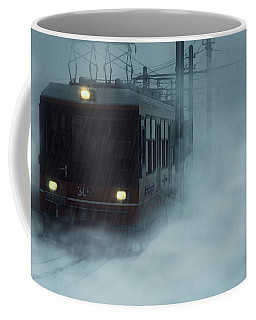 Traveling In The Snow... Coffee Mug