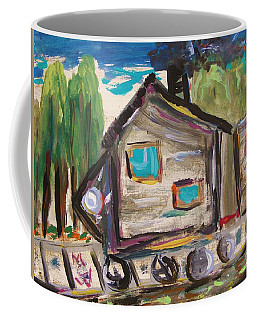 Traveling Through The Wilderness Coffee Mug by Mary Carol Williams