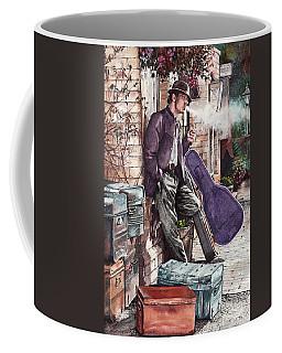 Travelling Man Coffee Mug