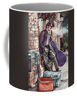 Travelling Man Coffee Mug