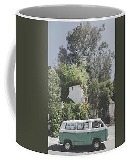 Travelling Vintage Wander Wolkswagen.  Coffee Mug