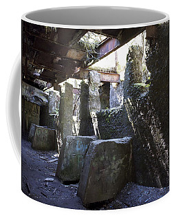 Treadwell Mine Interior Coffee Mug by Cathy Mahnke