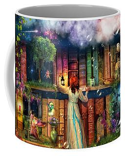 Fairytale Treasure Hunt Book Shelf Variant 2 Coffee Mug