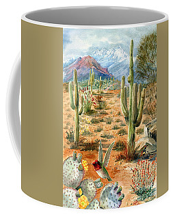 Treasures Of The Desert Coffee Mug