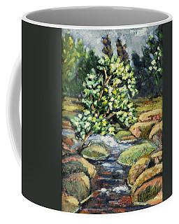 Tree And Stream Coffee Mug