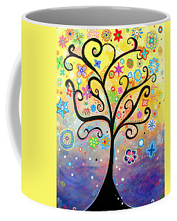 Tree Art Fantasy Abstract Coffee Mug