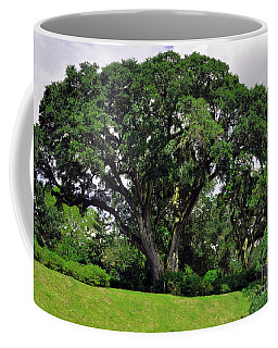 Tree By The River Coffee Mug by Lydia Holly