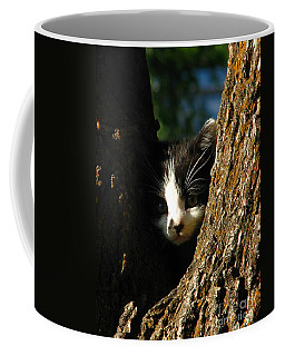 Tree Cat Coffee Mug