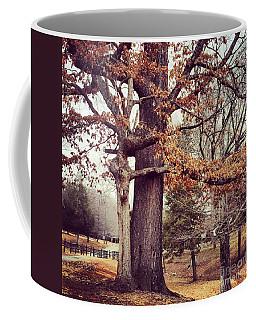 Tree Hugging Coffee Mug