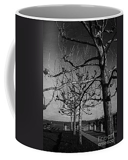 Tree In A Row  Coffee Mug