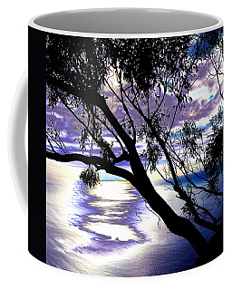 Tree In Silhouette Coffee Mug
