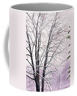 Coffee Mug featuring the painting Tree Memories by Melly Terpening