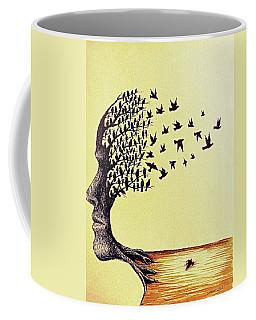 Tree Of Dreams Coffee Mug by Paulo Zerbato
