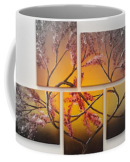 Tree Of Infinite Love Spotlighted Coffee Mug