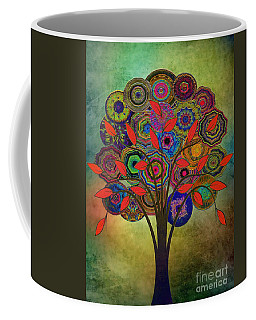 Tree Of Life 2. Version Coffee Mug by Klara Acel