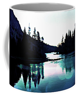 Tree Of Life Digital Paint Effect Coffee Mug