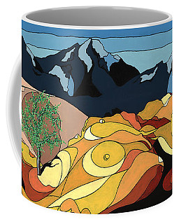 Tree Of Life Painting W/ Hidden Picture Coffee Mug
