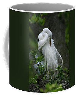 Coffee Mug featuring the photograph Tree Of Plumes by John F Tsumas