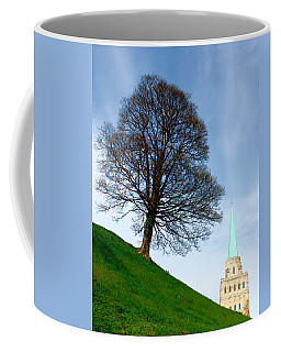 Tree On A Hill Coffee Mug
