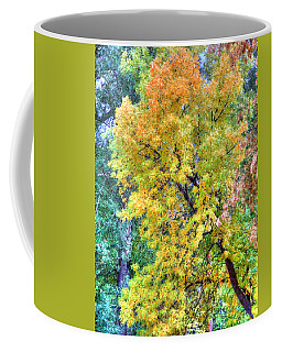 Tree On Fountain Creek Coffee Mug by Lanita Williams