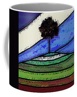 Tree On The Hill Coffee Mug