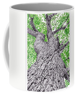 Tree Pen Drawing 4 Coffee Mug