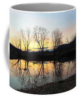 Tree Reflections Landscape Coffee Mug