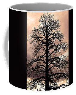Tree Silhouette Coffee Mug by Laurel Powell