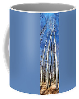 Tree Stand In Early Spring Coffee Mug