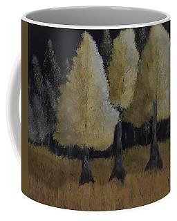 Tree Trio Coffee Mug by Dick Bourgault