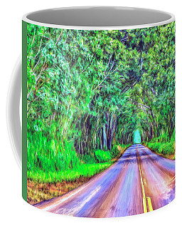 Tree Tunnel Kauai Coffee Mug