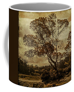 Trees And Hot Sand Coffee Mug