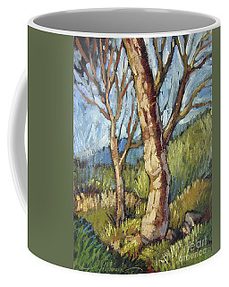 Trees In Spring Coffee Mug