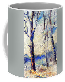 Trees In Winter Coffee Mug