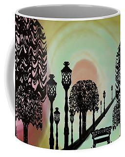 Trees Of Lights Coffee Mug
