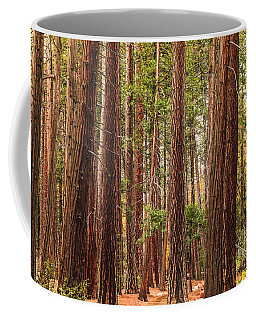 Trees Of Yosemite Coffee Mug