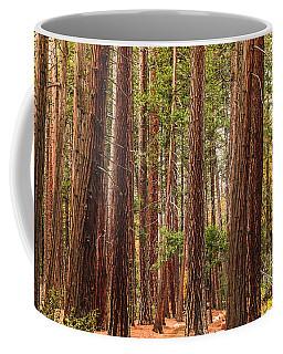 Trees Of Yosemite Coffee Mug by Muhie Kanawati