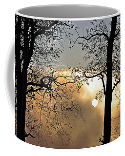 Trees On Misty Morning Coffee Mug