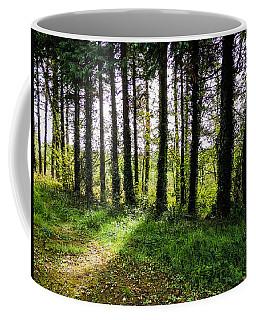 Trees On The Shannon Estuary Coffee Mug
