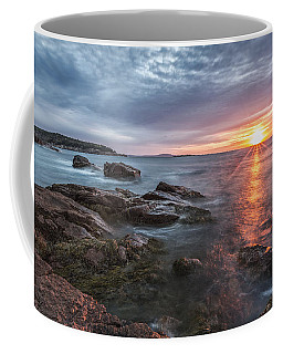 Trembling On The Shore Coffee Mug