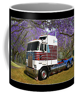 Coffee Mug featuring the photograph Trev's Kenworth by Keith Hawley
