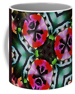Coffee Mug featuring the digital art Triad by David Lane