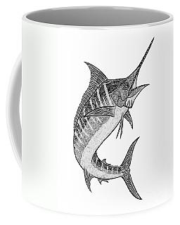 Hawaii Seascape Drawings Coffee Mugs
