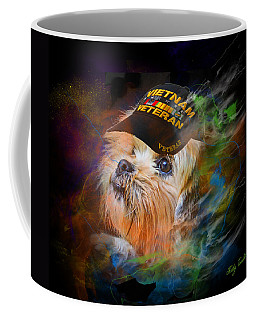 Tribute To Canine Veterans Coffee Mug